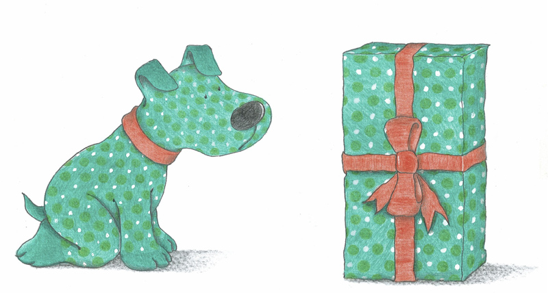 Soft Dog Gift